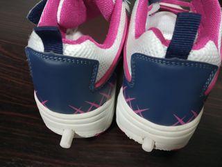 Zapatillas ruedas patines