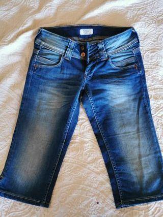 Pantalón vaquero corto Pepe Jeans mujer T.38 M