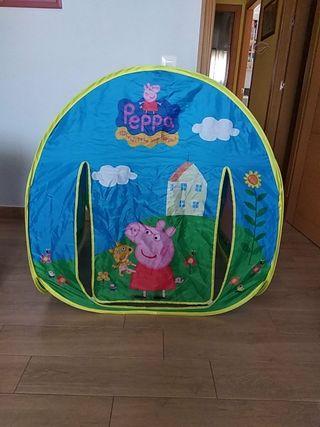 Casita de tela Peppa pig