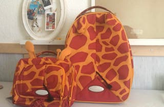 Maleta y neceser Samsonite girafa
