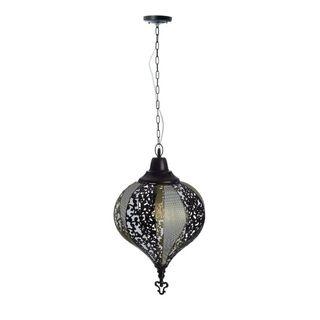Lampara Diseño Arabe Estructura Metal Diseño Flor