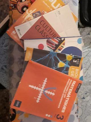 libros usados 3° ESO, IES Moli del Sol