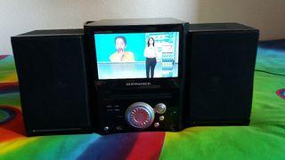 minicadena dvd/tdt-tv/usb-Supratech