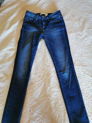 Vaquero largo mujer Victoria Beckham Jeans T.36