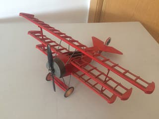 Maqueta Fokker Dr.1 del Barón Rojo