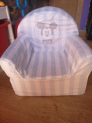 sillón mickey