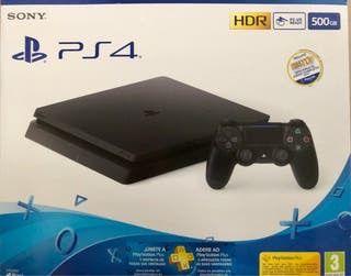 PlayStation 4 Slim 500GB Negro