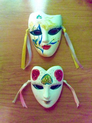 Máscaras Venecianas Decorativas (2x1)