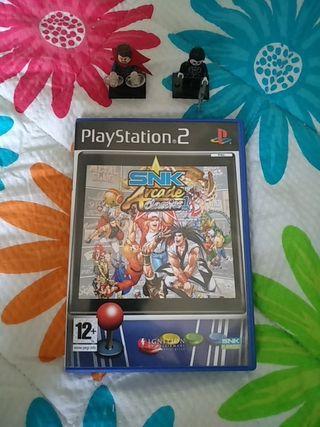 SNK Arcade Classics Vol.1 PS2