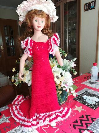 Muñeca Porcelana Antigua.