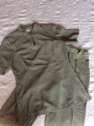 Conjunto camisa y pantalon talla 42 pequeña