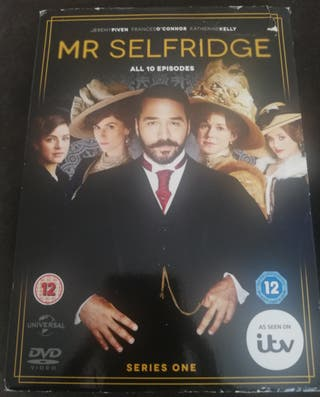 Luther and Mr Selfridge DVD plus Books & Notepads