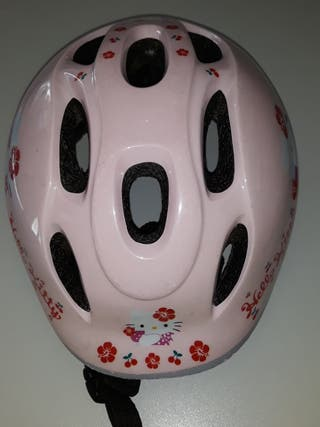 casco hello kitty niña