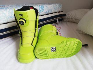 DC botas de snow talla 40