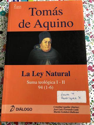 Libro de Tomás de Aquino