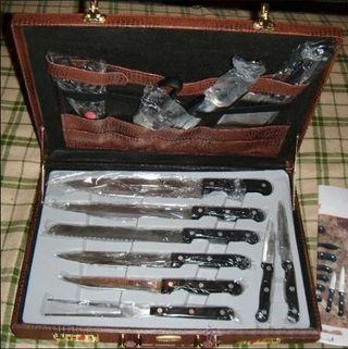 Maletín profesional de cuchillos Solingen