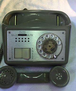 Teléfono manos libres antiguo