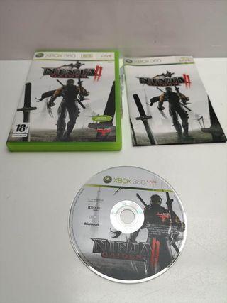 Juego Xbox 360 Completo Ninja Gaiden 2