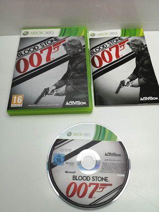 Juego Xbox 360 Completo 007 Blood Stone