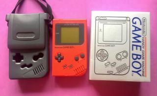 GAME BOY DMG-01 Caja + accesorios funda lupa luz