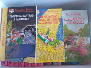 geronimo stilton y tea stilton