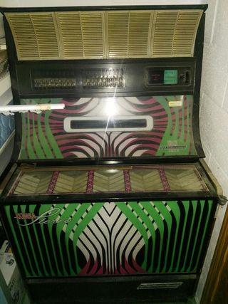 maquina de discos de bar