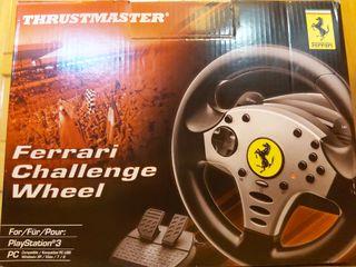 Volante y pedales thrustmaster pc/ps3