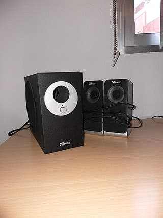 Subwoofer y altavoces