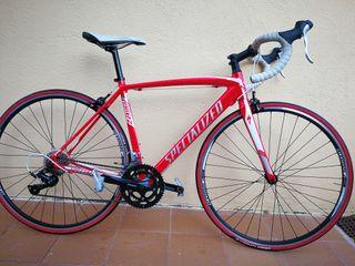 Bicicleta carretera SPECIALIZED + Rodillo Elite