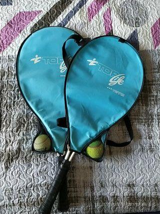 Set 2 Raquetas tenis