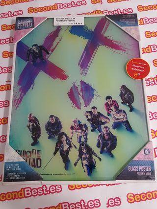 Suicide Squad XX Poster de vidrio