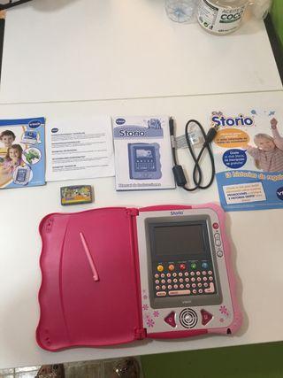 Estupenda Tablet niña marca Storio Vtech