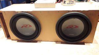 Car audio equipo de musica altavoces etapa
