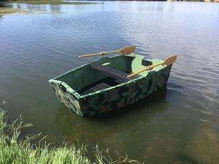 Barca para cebar