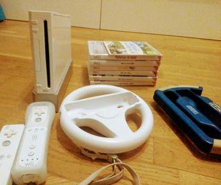 Wii, juegos, mandos y body balance