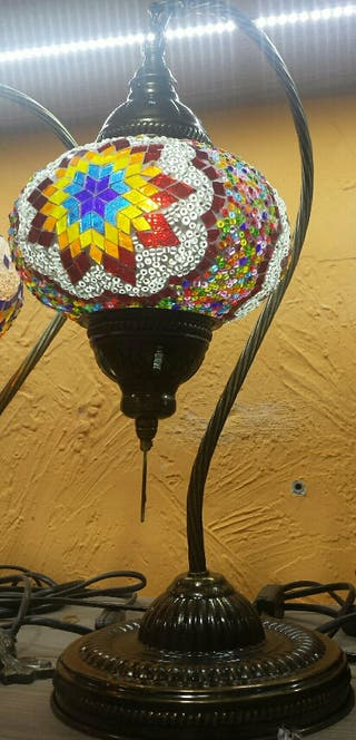 Lámpara turca cisne 3 2