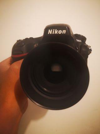 nikond800 full frame solo cuerpo, precio no nego.