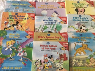 Disney bilingüe, inglés / español