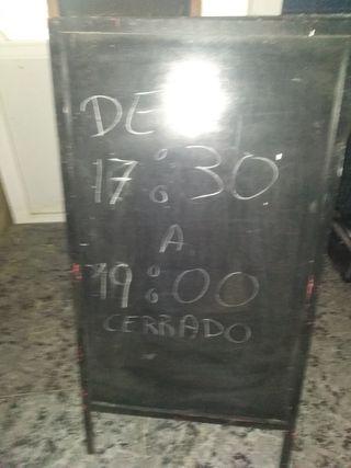 pizarras bar
