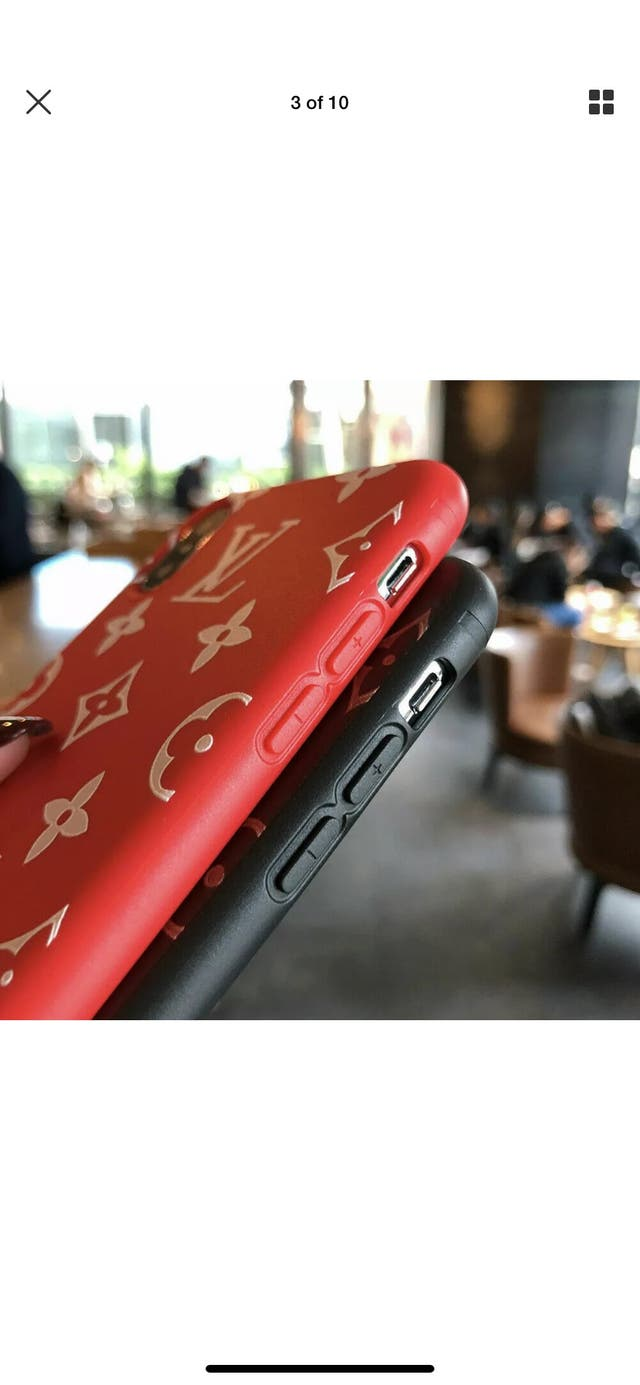 Supreme X Louis Vuitton phone case