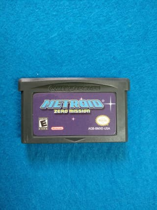 Game Boy Advance - Metroid Zero Missions