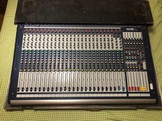 Mesa de mezclas Soundcraft de segunda mano en WALLAPOP