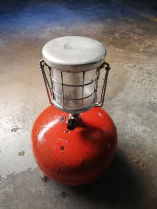 Bombona y lámpara camping butsir