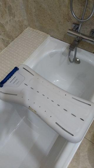 Tabla o asiento para bañera