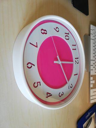Reloj de pared habitación niña