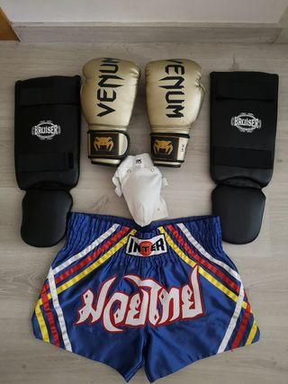kit para kickboxing, boxeo