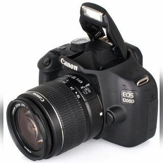 Canon 1200D + 2 objetivos (18-55 y 75-300)