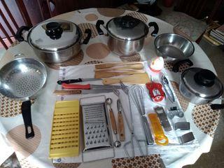 set/kit de cocina