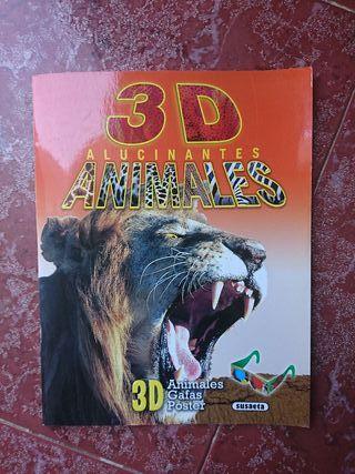 Libro 3D animales