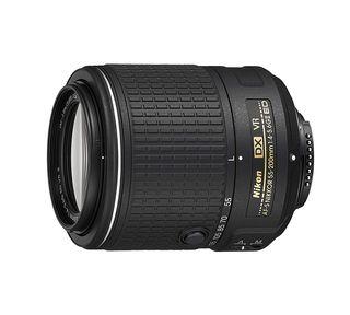 Objetivo Nikon AF-S DX 55 200 mm f/4 5.6 G ED